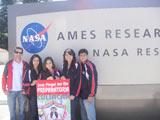 foto visita a la NASA