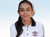 Daniela Jacques Osuna, ganadora de la etapa Zona Escolar en la I Olimpiada Estatal de Matemáticas