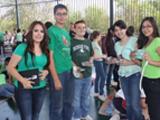 Los alumnos de secundaria del IJPR celebran a la tierra en su día