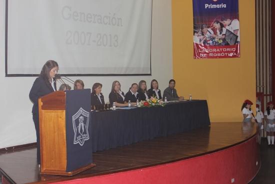 Acto Académico en Jean Piaget Cuiacan