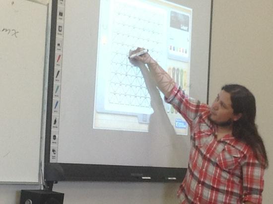 Curso de matematicas en Instituo Bilingue Jean Piaget