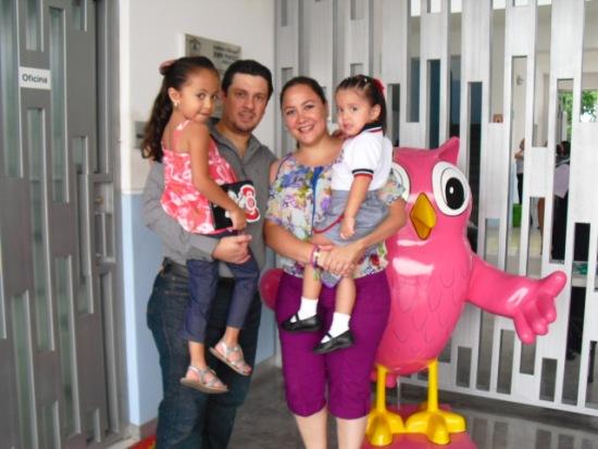 Padres de Visita en Preescolar
