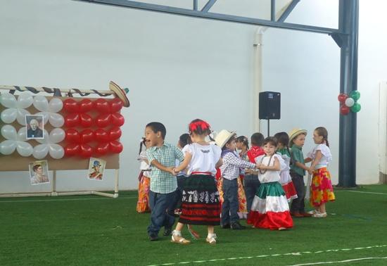 Festival de Independencia en Preescolar