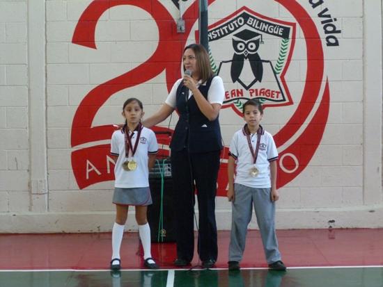 Campeones en Karate