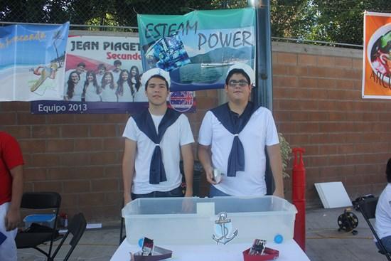 Feria de ciencias en Jean Piaget Culiacan