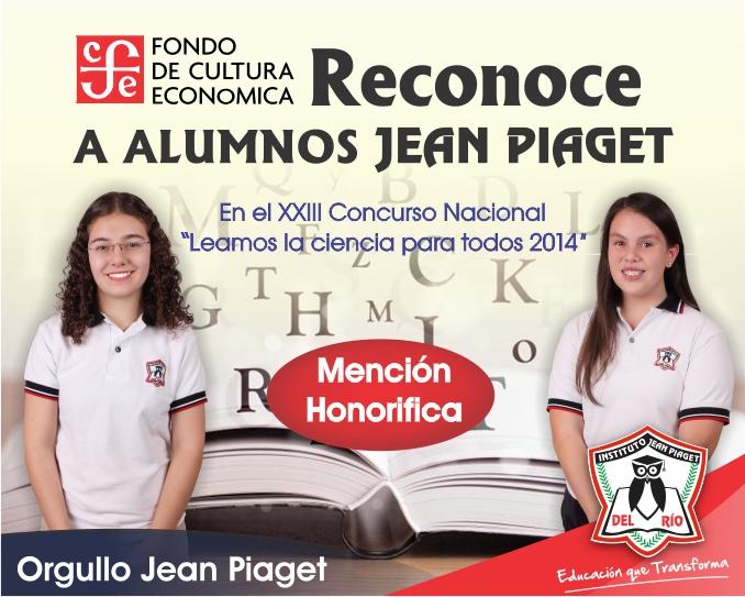 Mencion Honorifica para alumnas IBJP