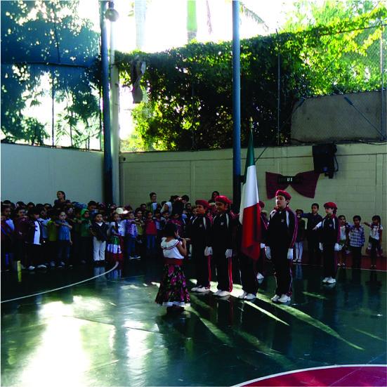 Homenaje por la Revolución Mexicana