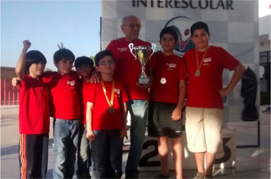 Campeones en Ajedrez
