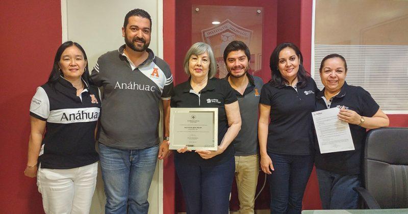 Convenio con Universidad Anahuac
