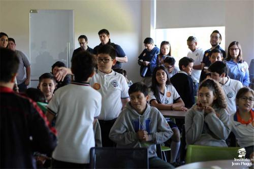 """Instituto Jean Piaget del Río, sede Estatal de """"La Hora del Código"""""""