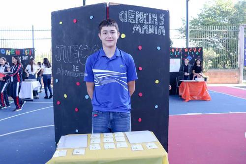 """Presentación de proyectos """"Me divierto con la Química"""" realizado por los alumnos de tercer grado de Secundaria para la materia de Ciencias III"""