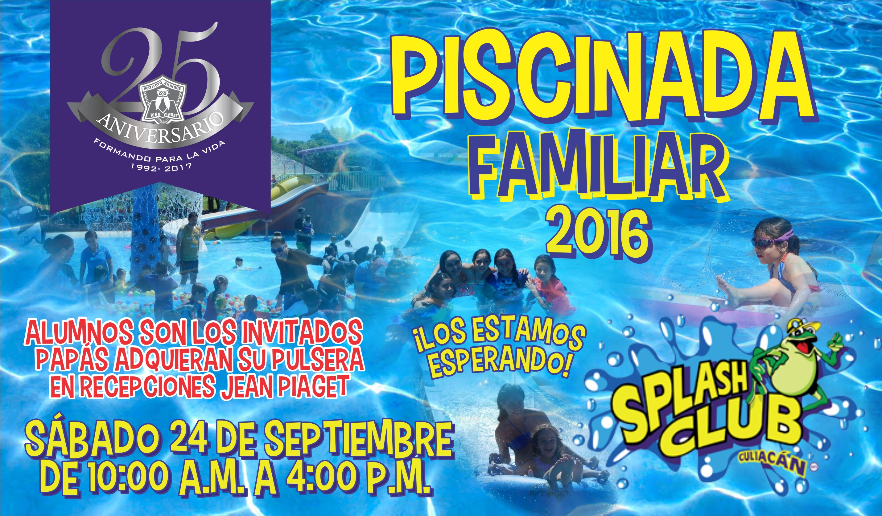Piscinada Splash Club