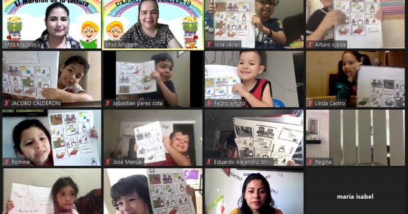 Maratón de la lectura – Preescolar